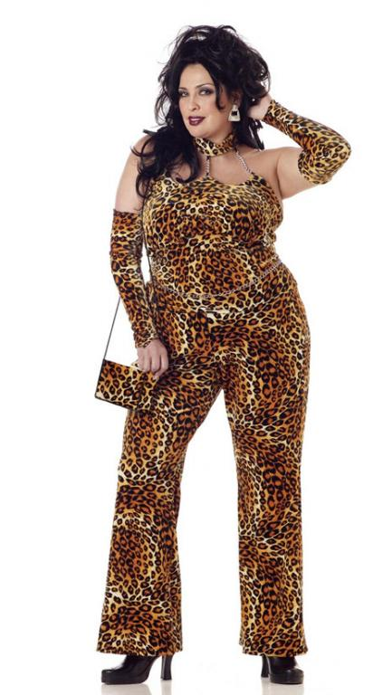 Fine Foxy Mama Plus Size Adult Costume