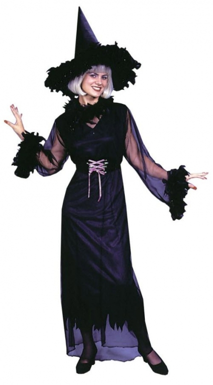 Feather Witch Plus Size Adult Costume