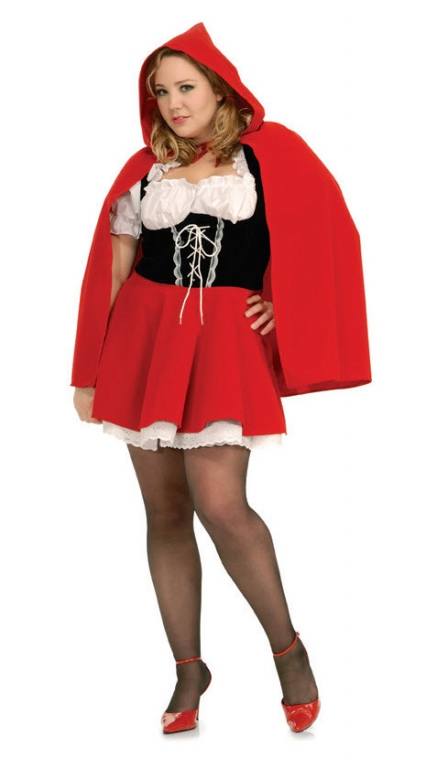 Riding Hood Plus Size Costume