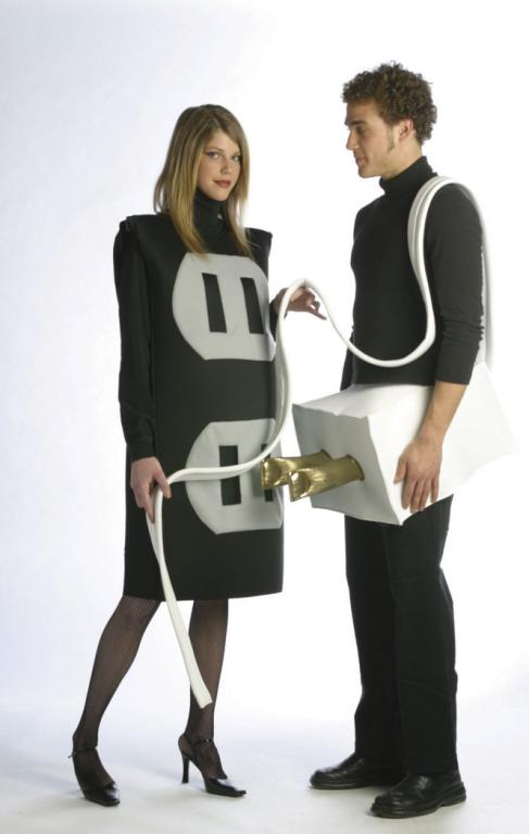 Plug and Socket Set Plus Size Adult Costume