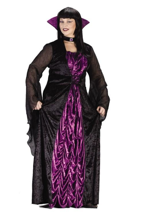 Countess Of Darkness Plus Size Adult Costume