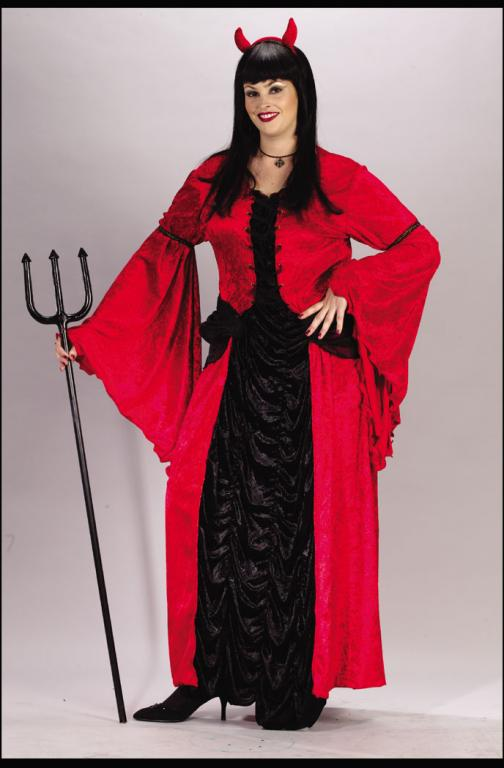 Devil Princess Plus Size Adult Costume