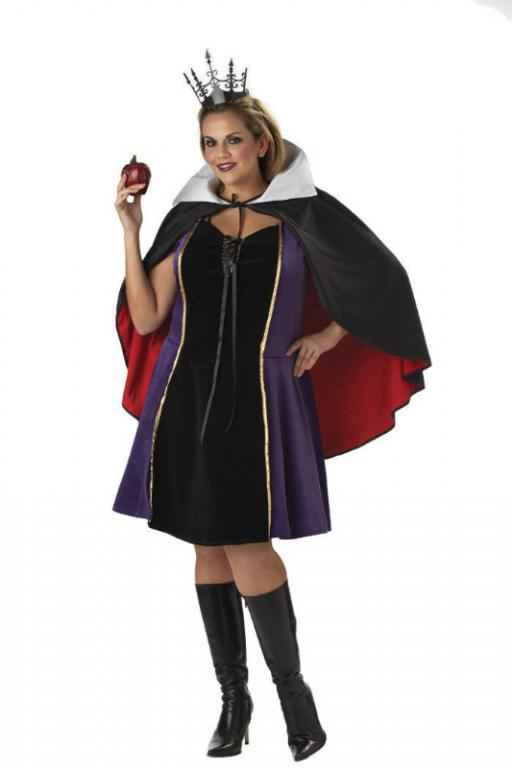 Sexy Evil Queen Plus Size Adult Costume