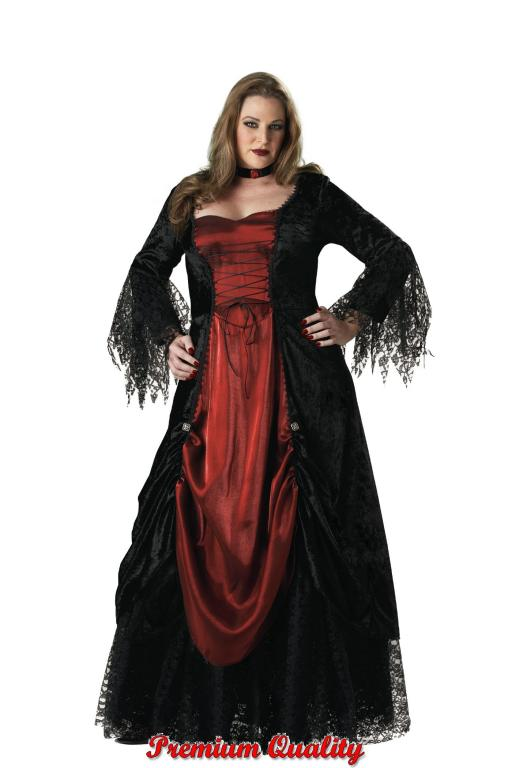 Gothic Vampira Adult Plus Size Costume
