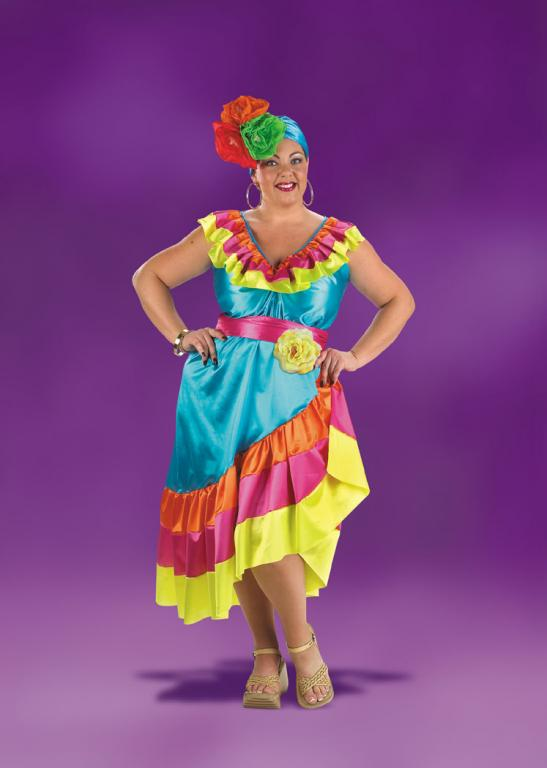Tropical Plus Size Costume