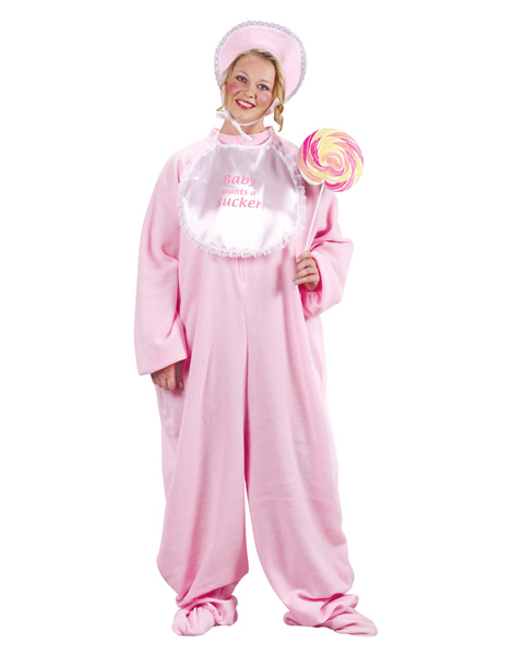Female Adult Plus Size PJ Jammies Costume