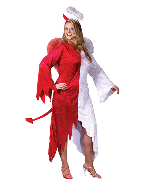 Angel Devil Adult Plus Costume