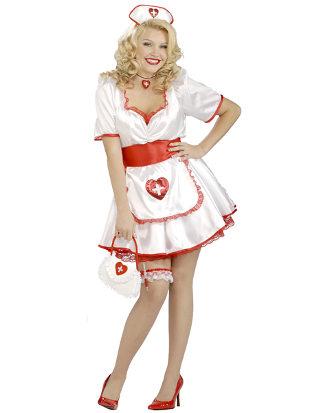 Hospital Honey Plus Size Costume for Women