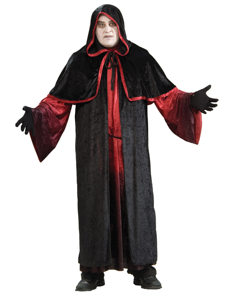 Adult Plus Size Robed Demon Costume
