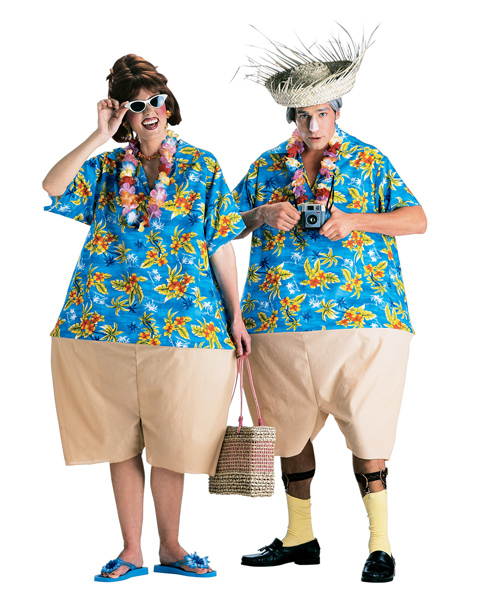 Tacky Tourists Costume for Adults
