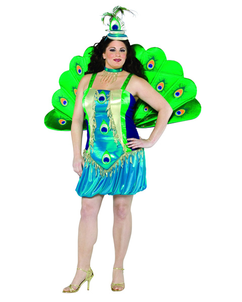 Plus Size Peacock Costume for Adult