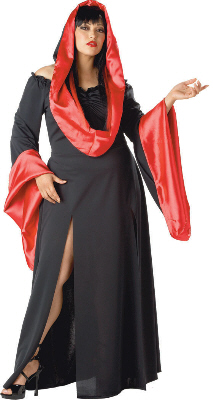 Sexy Robe Plus Size Adult Costume
