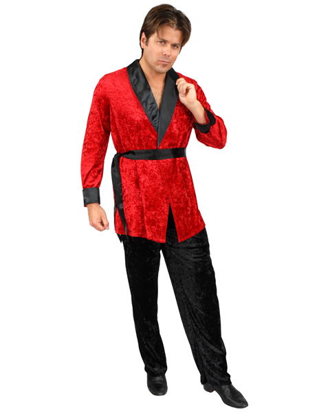 Mens Plus Size Smoking Jacket Costume
