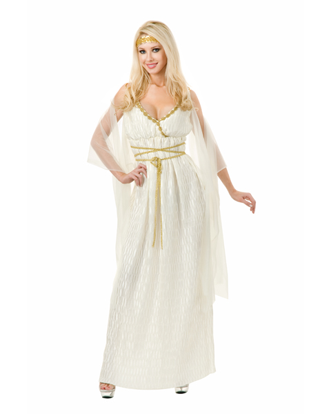 Womens Plus Size Grecian Princess Costume