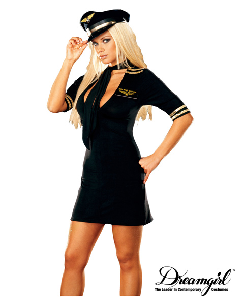 Adult Mile High Captain Costume