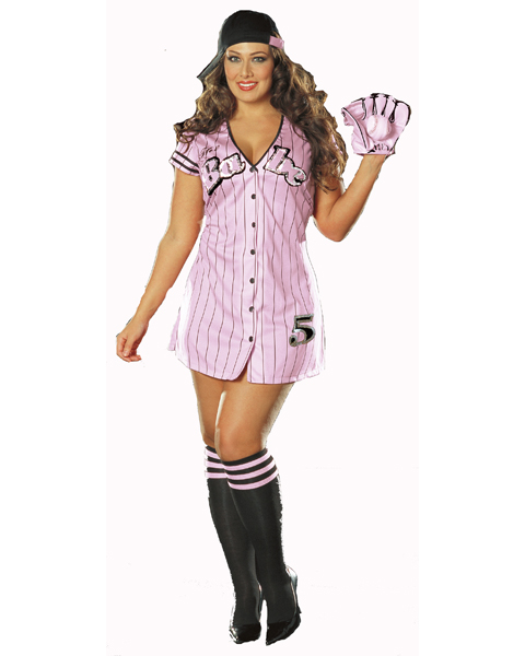 Plus Size The Babe Costume