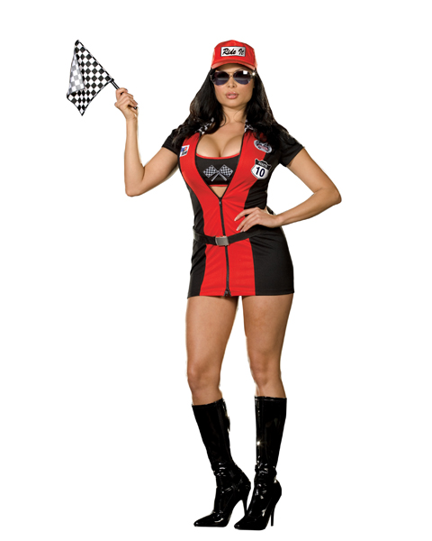 Womans Plus Size Joy Rider Costume