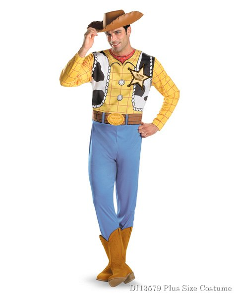 Adult Toy Story Woody Plus Costume