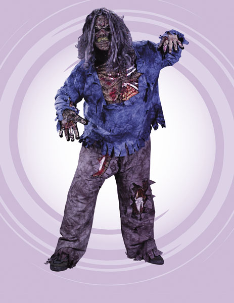 Zombie Plus Size Adult Costume