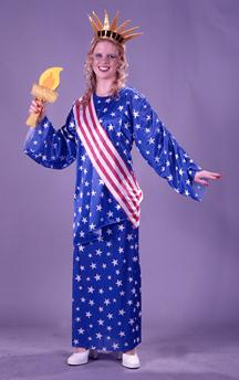 Miss Liberty Plus Size Adult Costume