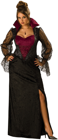 Midnight Vampiress Plus Size Costume