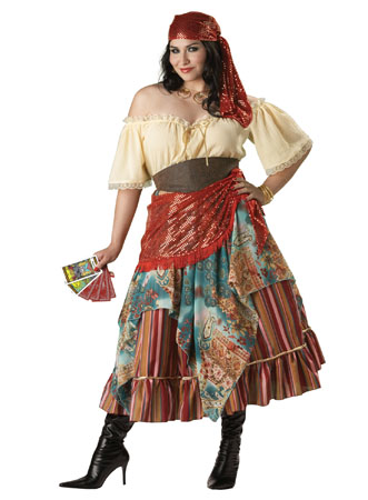 Fortune Teller Plus Size Costume