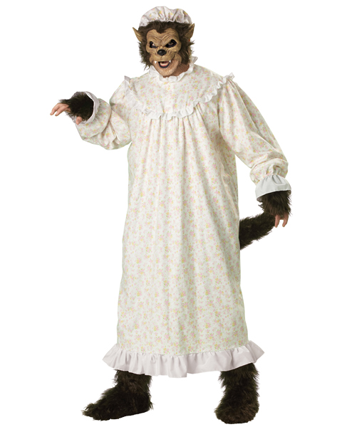 Plus Size Premier Big Bad Wolf Costume for Adult