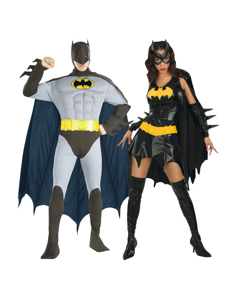 Batgirl Costume for Couple