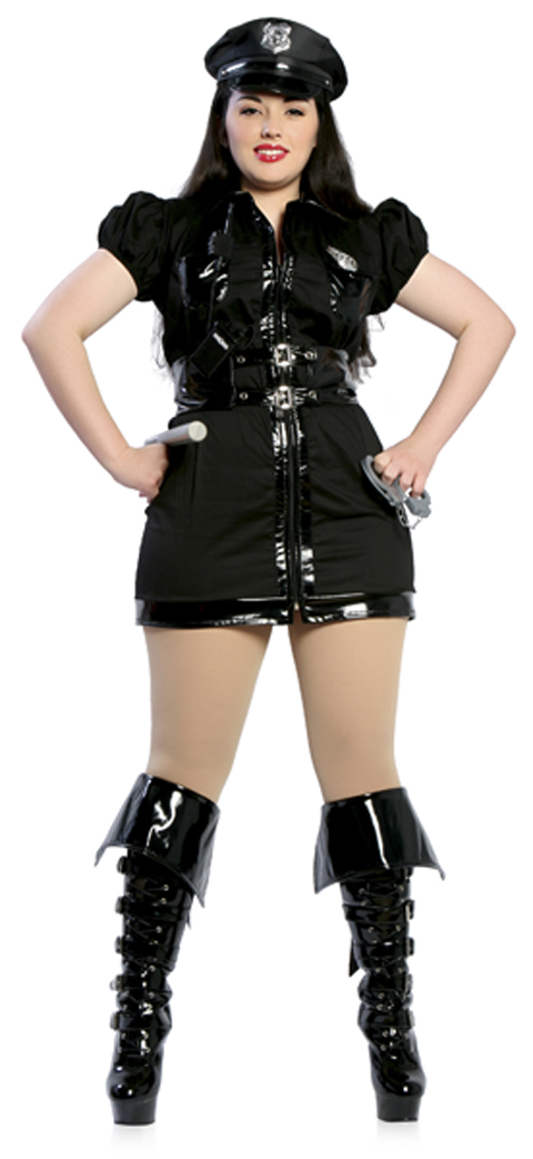 Dirty Cop Plus Size Costume for Adults