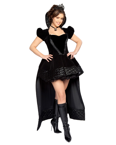 Sexy Plus Wicked Queen Deluxe Womens Costume