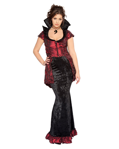 Adult Sexy Goddess of Twilight Vampire Plus Size Costume