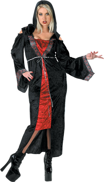 Gothic Vampiress Plus Size Costume