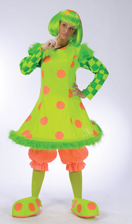 Lolli The Clown Plus Size Adult Costume