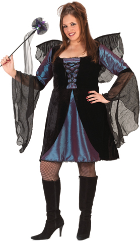 Sweet & Sexy Fairy Plus Size Adult Costume