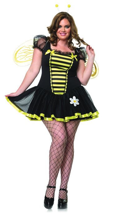 Plus Size Bee Costume