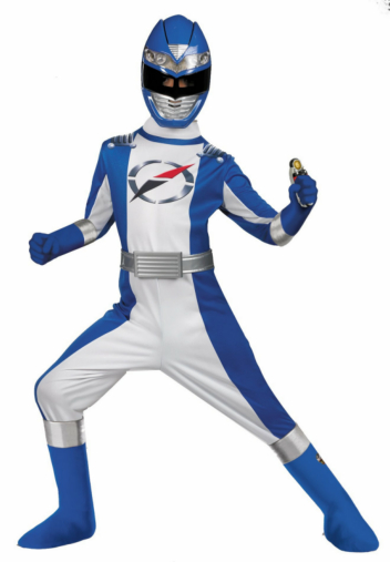 Power Rangers Operation Overdrive Blue Ranger Complete Child Cos