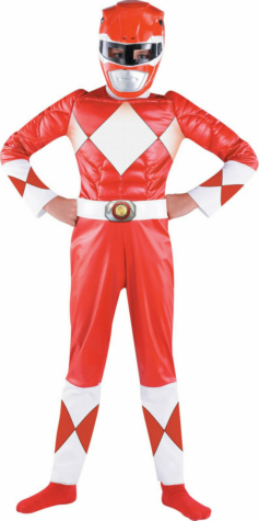 Power Rangers Red Ranger Classic Muscle Child Costume