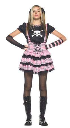Punk Rock Costume