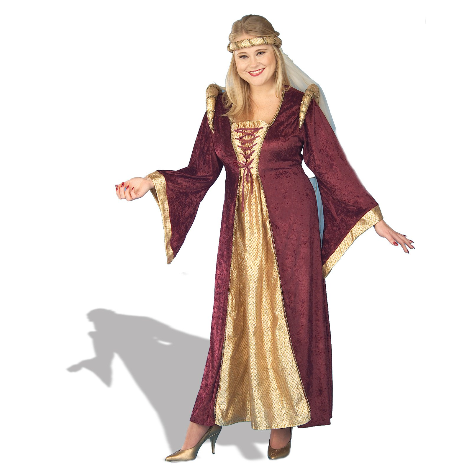 Renaissance Queen Plus Adult Costume