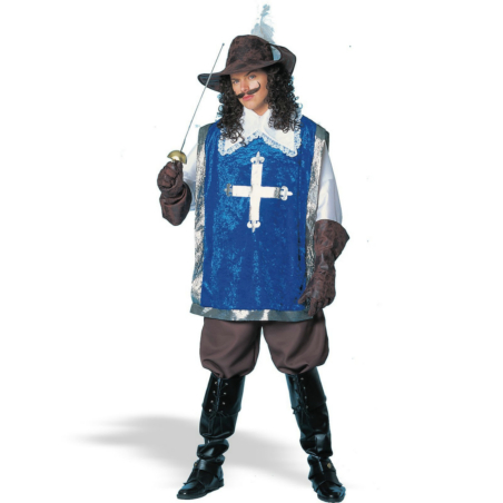 Musketeer W/Hat Deluxe Adult Costume