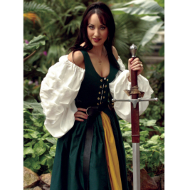 Irish Lass Dress Renaissance Collection Adult Costume
