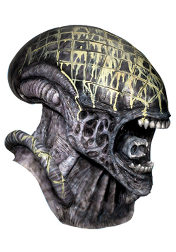 Deluxe Latex Alien Mask
