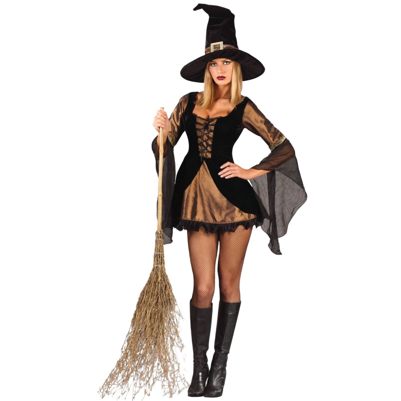 Sweet & Sexy Witch Adult Costume