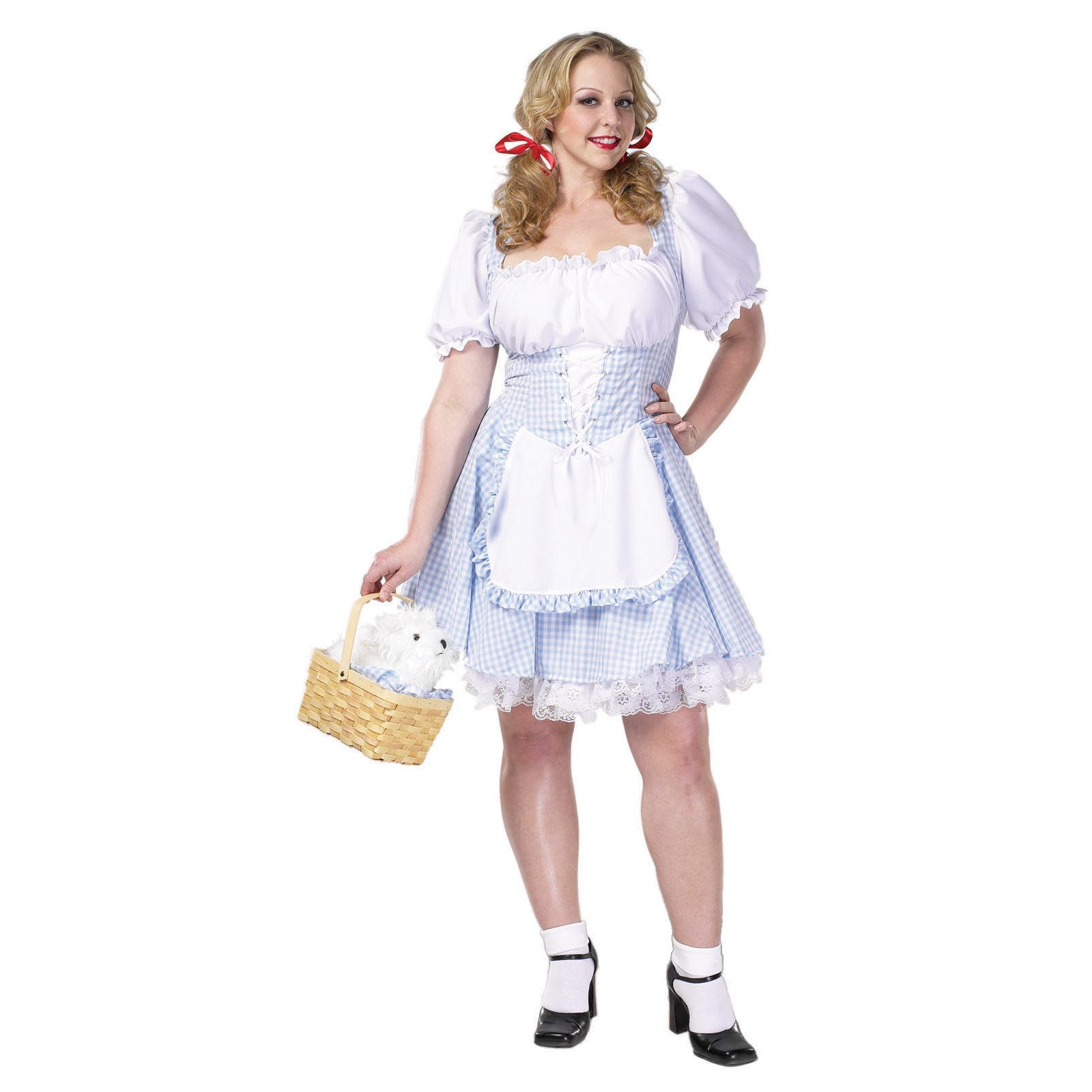 Sexy Dorothy Plus Adult Costume