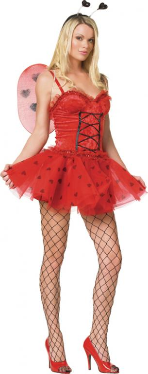 Lady Love Bug Sexy Adult Costume