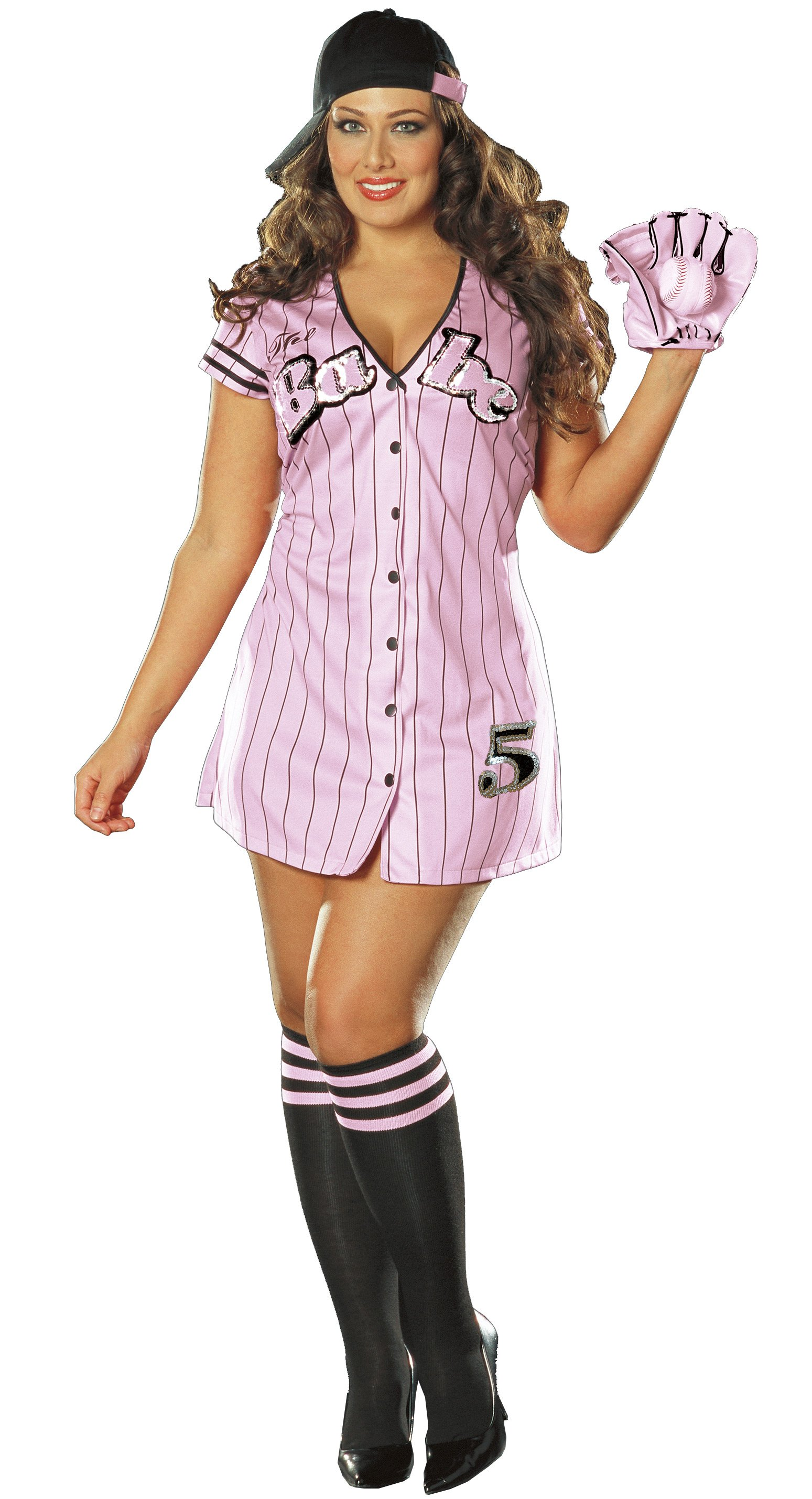 The Babe Sexy Adult Plus Costume