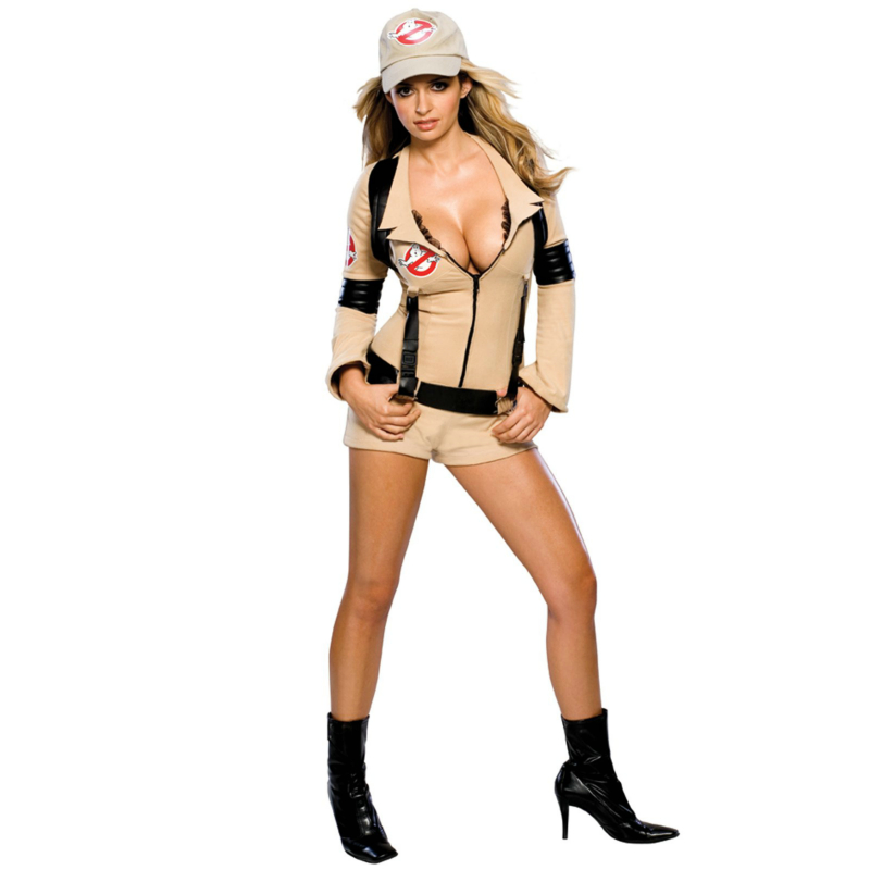 Secret Wishes Ghostbuster Sexy Adult Costume