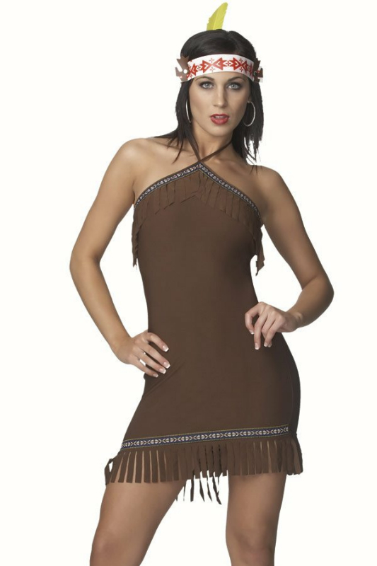 Native Girl Sexy Adult Costume