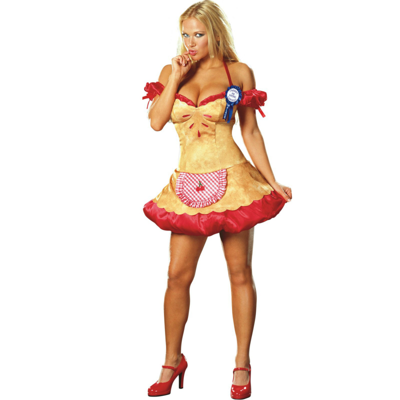 Hot Cherry Pie Adult Costume