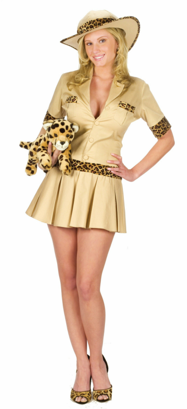 Sexy Safari Girl Adult Plus Costume
